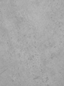 Schwebender Couchtisch Lesley in Betonoptik, Mitteldichte Holzfaserplatte (MDF), mit Melaminfolie überzogen, Massives Mangoholz, Grau, Betonoptik, 90 x 35 cm