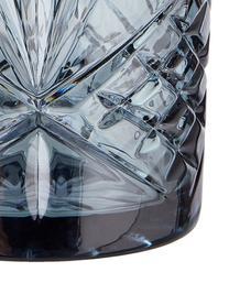 Verre cristal gris Crystal Club, 4 pièces, Gris