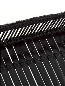 Bambus-Serviertablett Bila in Schwarz in verschiednen Größen, 2er-Set, Bambus, Schwarz, Set mit verschiedenen Größen