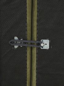 Modulaire chaise longue Lennon in groen van corduroy, Bekleding: corduroy (92% polyester, , Frame: massief grenenhout, multi, Poten: kunststof De poten bevind, Corduroy groen, 269 x 119 cm