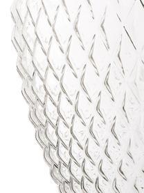 Pendelleuchte Lee aus Glas, Lampenschirm: Glas, Transparent, Chrom, ∅ 27 x H 33 cm