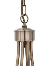 Lampadario Maypole, Struttura: acciaio ottonato, Baldacchino: acciaio ottonato, Ottone, Ø 60 x Alt. 50 cm