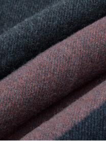 Koc z kaszmiru Variation Purple, 80% wełna, 20% kaszmir, Wielobarwny, S 130 x D 170 cm