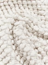 Kissenhülle Indi mit strukturierter Oberfläche in Cremeweiß, 100% Baumwolle, Gebrochenes Weiß, 30 x 50 cm