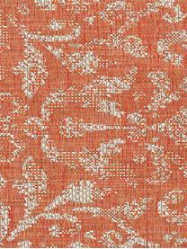 In- & Outdoor-Teppich Hatta im Vintage Look in Orange/Beige, 100% Polypropylen, Orangenrot, Beige, B 70 x L 140 cm (Größe XS)