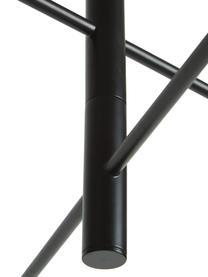 Große Dimmbare LED-Pendelleuchte Clyde, Lampenschirm: Metall, beschichtet, Baldachin: Metall, beschichtet, Schwarz, Ø 90 x H 22 cm
