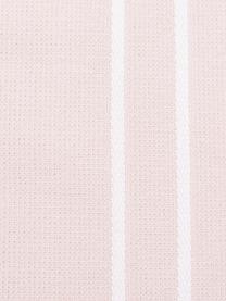 Hamamtuch Freddy mit Fransen und Frottee-Rückseite, Rückseite: Frottee, Rosa, 100 x 180 cm