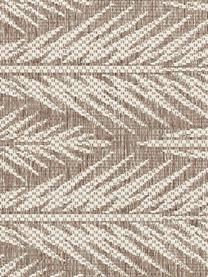 Design In- & Outdoor-Teppich Pella mit grafischem Muster, 100% Polypropylen, Taupe, Beige, B 200 x L 290 cm (Größe L)
