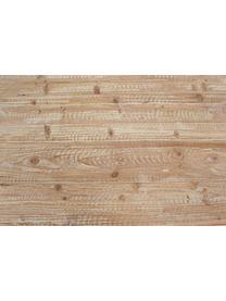 Stolik kawowy z drewna Garrett, Blat: drewno jodłowe Nogi, Brązowy, ciemnobrązowy, S 120 x G 60 cm