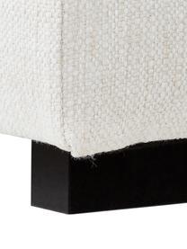 XL-Ecksofa Tribeca in Beige, Bezug: Polyester Der hochwertige, Gestell: Massives Kiefernholz, Füße: Massives Buchenholz, lack, Webstoff Beige, B 405 x T 228 cm