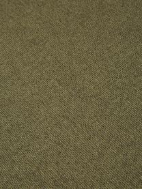 Divano angolare componibile in tessuto verde Lennon, Rivestimento: poliestere Il rivestiment, Struttura: legno massiccio di pino, , Piedini: materiale sintetico I pie, Tessuto verde, Larg. 326 x Prof. 207 cm