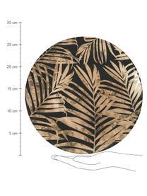 Set 18 piatti con motivo tropicale per 6 persone Forest Chic, Multicolore, Set in varie misure