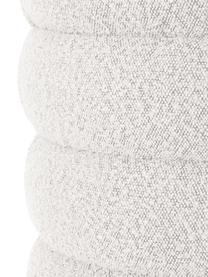 Bouclé-Polsterbank Alto in Cremeweiß, Bezug: Bouclé (100% Polyester) D, Gestell: Massives Kiefernholz, Spe, Bouclé Cremeweiß, 110 x 47 cm