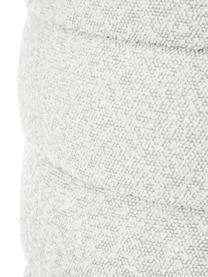Panca imbottita in tessuto bouclé bianco crema Alto, Rivestimento: 100% poliestere (pellicci, Struttura: legno di pino massiccio, , Bouclé bianco crema, Larg. 110 x Alt. 47 cm
