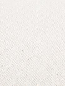 Banquette en velours Beverly, Couleur crème