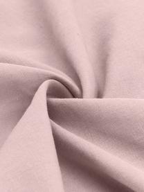 Gewaschene Leinen-Bettwäsche Nature in Rosa, Halbleinen (52% Leinen, 48% Baumwolle)  Fadendichte 108 TC, Standard Qualität  Halbleinen hat von Natur aus einen kernigen Griff und einen natürlichen Knitterlook, der durch den Stonewash-Effekt verstärkt wird. Es absorbiert bis zu 35% Luftfeuchtigkeit, trocknet sehr schnell und wirkt in Sommernächten angenehm kühlend. Die hohe Reißfestigkeit macht Halbleinen scheuerfest und strapazierfähig., Rosa, 240 x 220 cm + 2 Kissen 80 x 80 cm