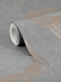 Carta da parati Koi, Tessuto non tessuto, Grigio, beige, Larg. 52 x Alt. 1005 cm