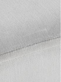Ławka z aksamitu Harper, Tapicerka: aksamit bawełniany, Jasny szary, odcienie złotego, S 90 x W 44 cm