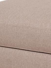 Tabouret de canapé avec rangement Cucita, Taupe
