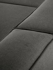 Canapé 4 places modulable gris anthracite Lennon, Tissu anthracite