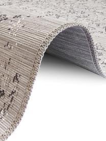 In- & Outdoor-Teppich Orient im Vintage Style, 100% Polypropylen, Grautöne, B 120 x L 170 cm (Größe S)
