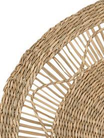 Tischset Gipsy aus Seegras, Seegras, Beige, Ø 35 cm