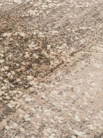 Dywan w stylu vintage Rugged, 66% wiskoza, 25% bawełna, 9% poliester, Beżowy, brązowy, S 170 x D 240 cm (Rozmiar M)