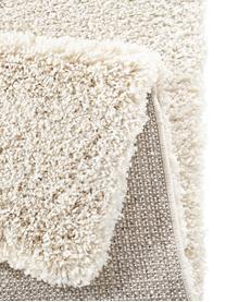 Flauschiger Hochflor-Teppich Venice in Creme, Flor: 100% Polypropylen, Creme, B 160 x L 230 cm (Größe M)