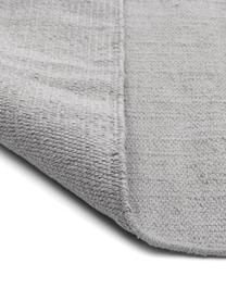 Tappeto in cotone tessuto a mano Agneta, 100% cotone, Grigio, Larg. 70 x Lung. 140 cm (taglia XS)