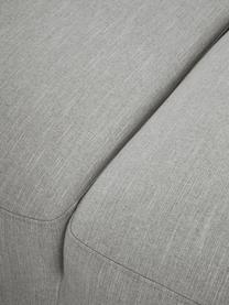 Ecksofa Melva (4-Sitzer) in Grau, Bezug: 100% Polyester Der hochwe, Gestell: Massives Kiefernholz, FSC, Füße: Kunststoff, Webstoff Grau, B 319 x T 196 cm