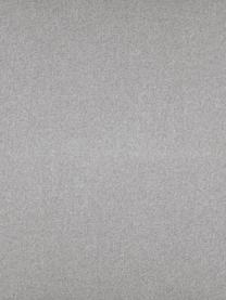 Chaise longue Fluente in lichtgrijs met metalen poten, Bekleding: 80% Polyester, 20% Ramie, Frame: massief grenenhout, Poten: gepoedercoat metaal, Lichtgrijs, B 202 x D 85 cm