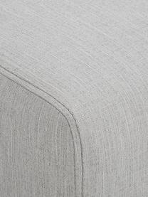 Divano 2 posti in tessuto grigio Carrie, Rivestimento: poliestere 50.000 cicli d, Struttura: truciolato, faesite, comp, Piedini: metallo verniciato, Tessuto grigio, Larg. 176 x Prof. 86 cm