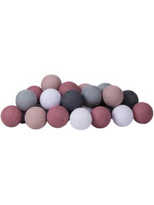 Girlanda świetlna LED Colorain, Purpurowy, odcienie szarego, biały, D 230 x W 10 cm