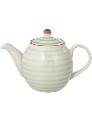 Teiera Patrizia, Terracotta, Esterno: verde, crema, viola<br>Interno: crema, 1.2 L