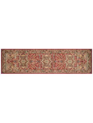 Chodnik Alberto, 100% polipropylen, Czerwony, wielobarwny, S 66 x D 243 cm