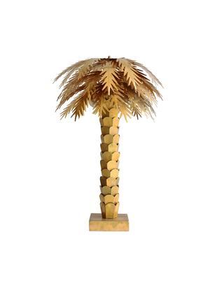 Dimmbare XL Tischleuchte Palma, Messing, Messing, Ø 45 x H 68 cm