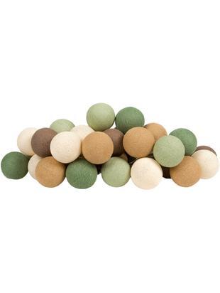 Girlanda świetlna LED Colorain, Odcienie zielonego, odcienie brązowego, biały, D 230 x W 10 cm