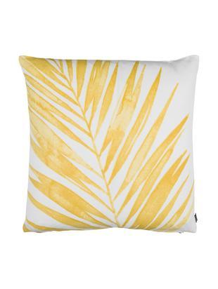 Cuscino Laguna, Rivestimento: cotone, Fronte: giallo, bianco<br>Retro: bianco, P 50 x L 50 cm
