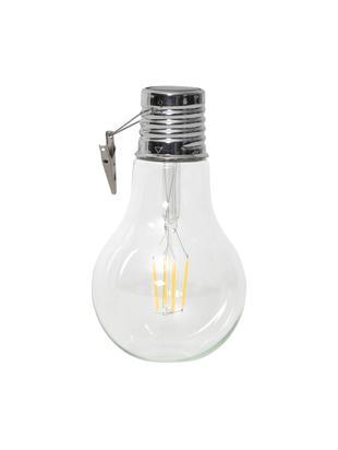 Solarna lampa LED Fille, 2 szt., Transparentny, Ø 10 x W 18 cm