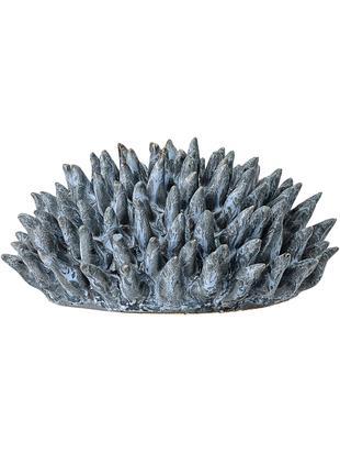 Dekoracja Gala, Kamionka, Niebieski, Ø 11 cm x W 6 cm
