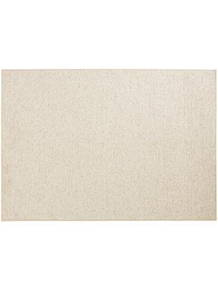 Vloerkleed Lyon met lussenpool, Bovenzijde: polypropyleen, Onderzijde: vlies, Gemengd crèmekleurig, 100 x 140 cm