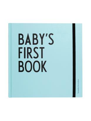 Libro dei ricordi Baby's First Book, Carta, Blu, Larg. 25 x Alt. 25 cm