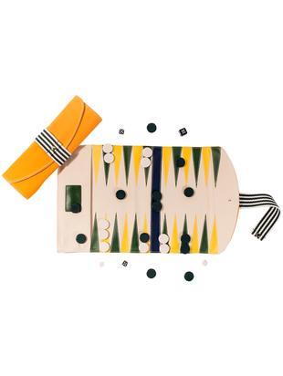 Gioco Backgammon Travel, 36 pz., Multicolore, Lung. 45 cm