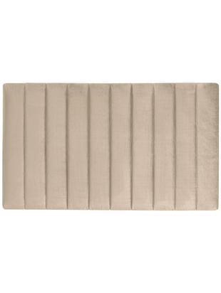 Cabecero Paris Stripe, Estructura: tablero de fibras de dens, Tapizado: 100%poliéster efecto ter, Interior: guata doble 500g (100%p, Beige, An 135 x Al 80 cm