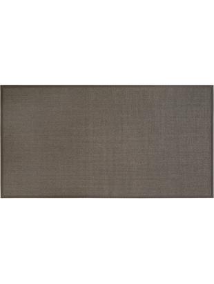 Tappeto in sisal Leonie, Fibra di sisal, Marrone grigio, Larg. 80 x Lung. 150 cm (taglia XS)