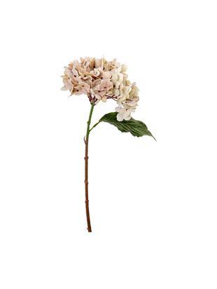 Flor artificial Melinda, Plástico, Beige, verde, An 24 x Al 34 cm