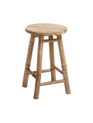 Stołek z drewna bambusowego Sole