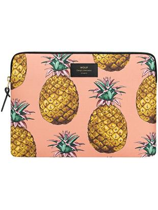 Laptophülle Ananas für MacBook Pro/Air 13 Zoll, Orange, 33 x 23 cm