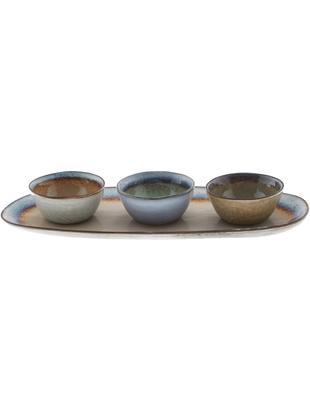 Set di ciotole Nominomo 4 pz, Terracotta, Multicolore, Diverse dimensioni