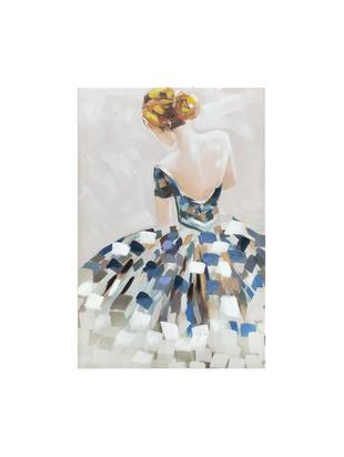 Cuadro sobre lienzo Woman, Lienzo, Multicolor, An 80 x Al 120 cm